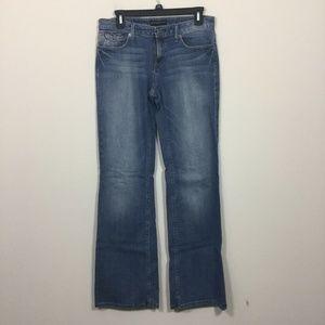 Banana Republic Size 4R Bootcut Pocket Flaps Jeans